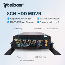 China do carro móvel DVR FHD DVR dos Gps H.264 4CH de 720P HDD gravador de vídeo móvel DVR 3g fábrica